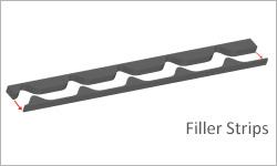 onduvilla filler strip