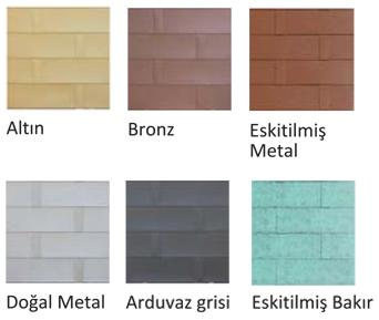 bardoline metal colors